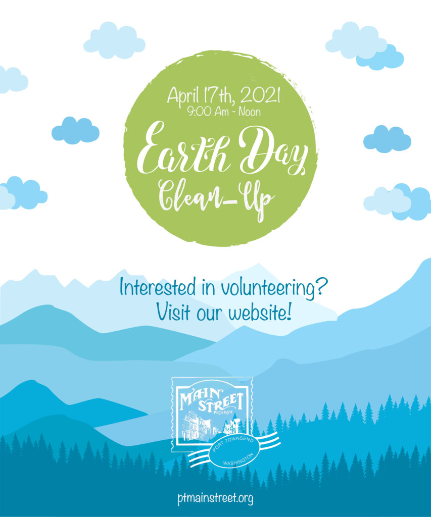 Earth Day Clean Up | Port Townsend Mainstreet